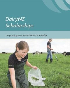 Dairy NZ Scholarships