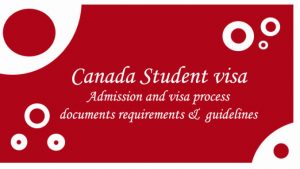 How to apply for a Canadian study permit