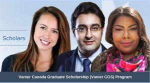 Vanier Canada Graduate Scholarship