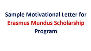 How to Write an Erasmus Motivation Letter