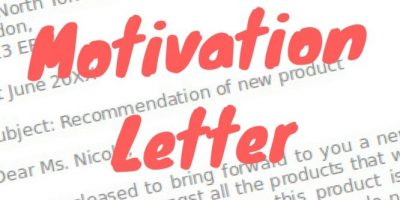 Motivation Letter for Job
