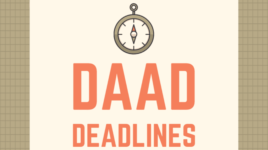 daad scholarship 2020 deadline