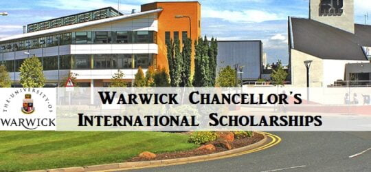 Warwick Chancellor's International Scholarships