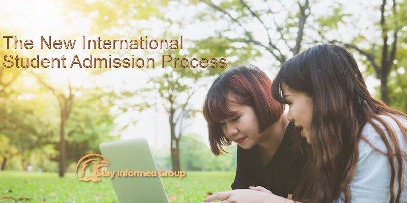 international student admission process