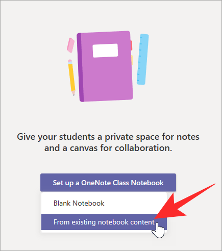 set-up-your-class-notebook-existing-notebook