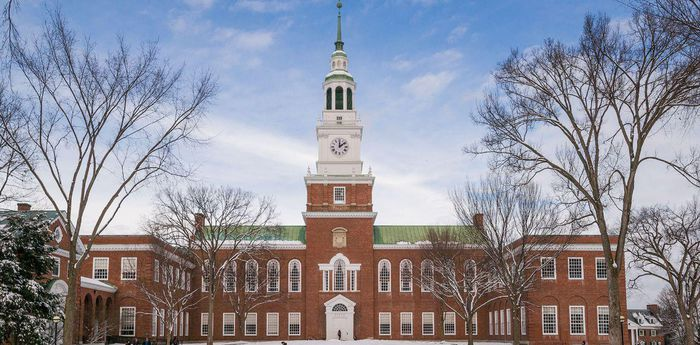 list of Ivy League Schools Ranking Dartmouth College