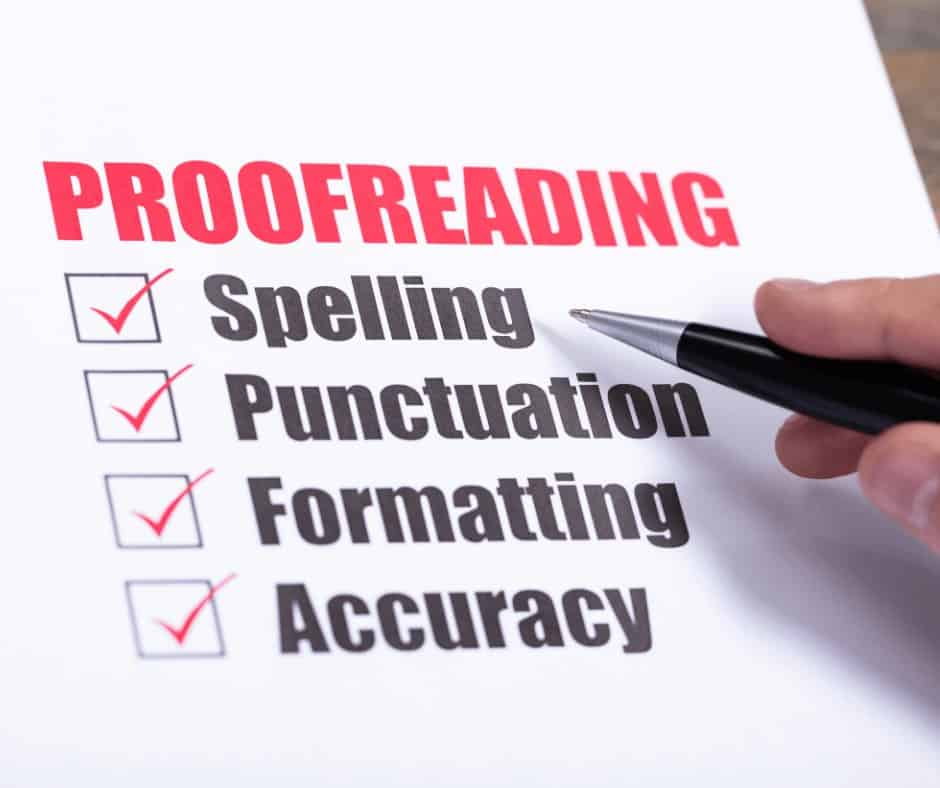 best free online proofreading courses with certificate