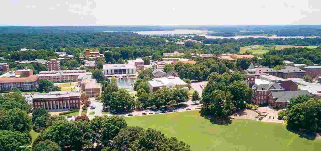 south carolina universities ranking
