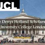 Denys Holland Scholarship at the University College London