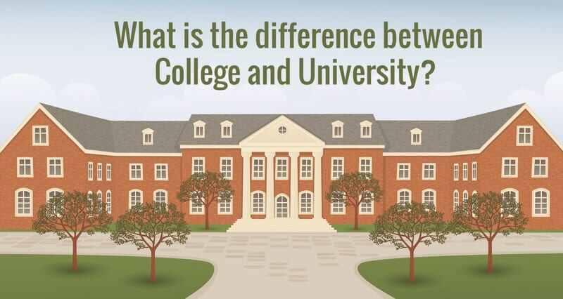 Colleges vs Universities