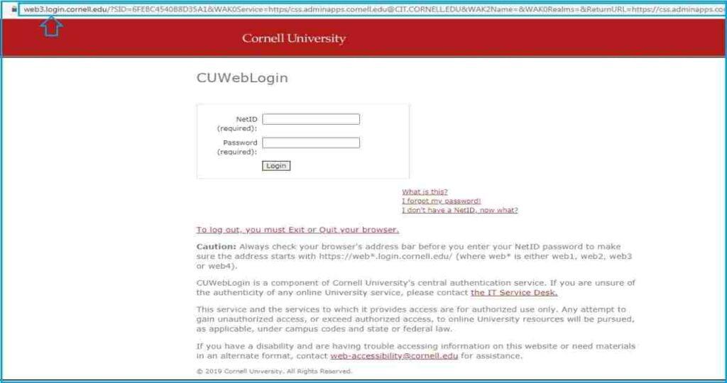 Cornell University Student Portal Login: studentcenter.cornell.edu