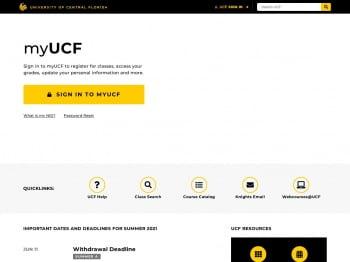 University of Central Florida, UCF Student Portal Login: www.ucf.edu
