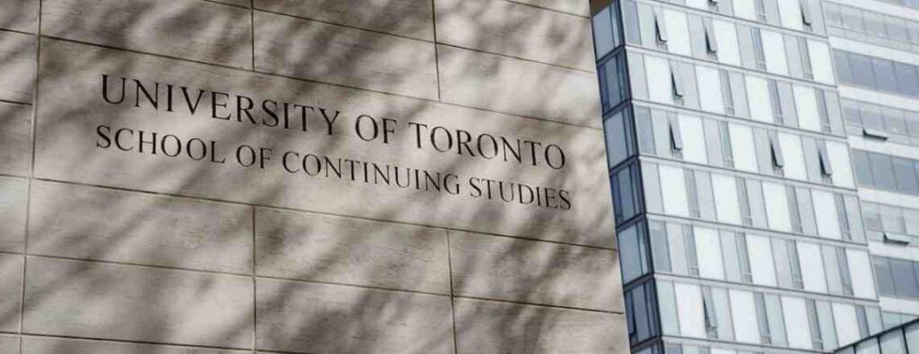 University of Toronto Continuing Education